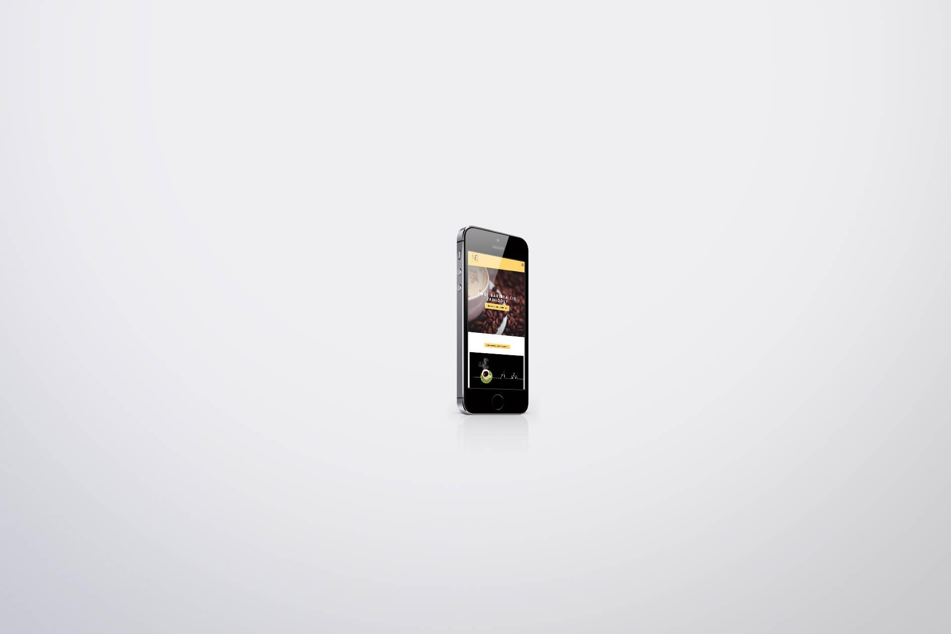 strona firmowa na telefon
